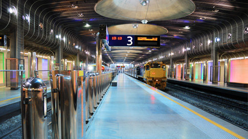 Britomart Train Station
