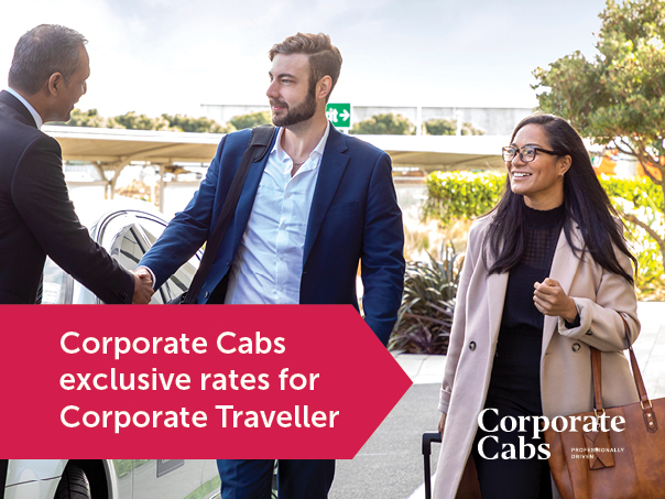 Corporate Cabs exclusive rates with Corporate Traveller
