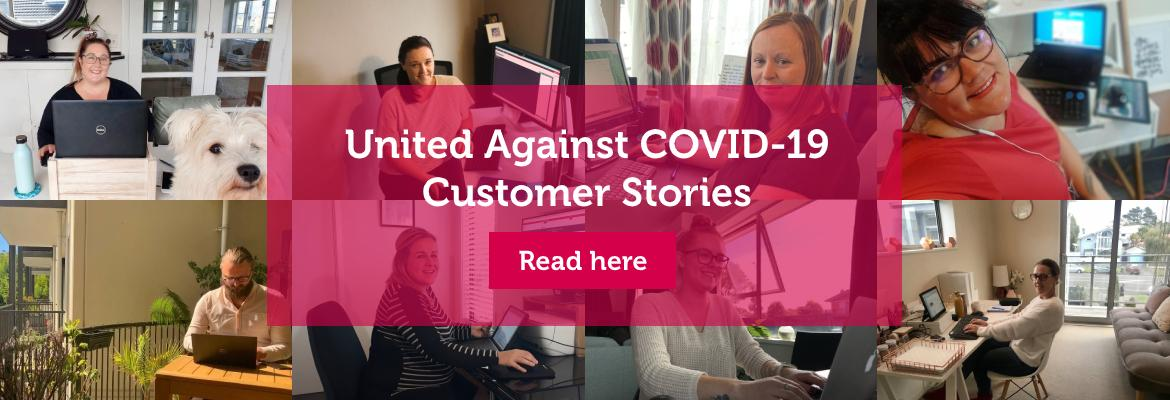 United Against COVID-19 Customer Stories